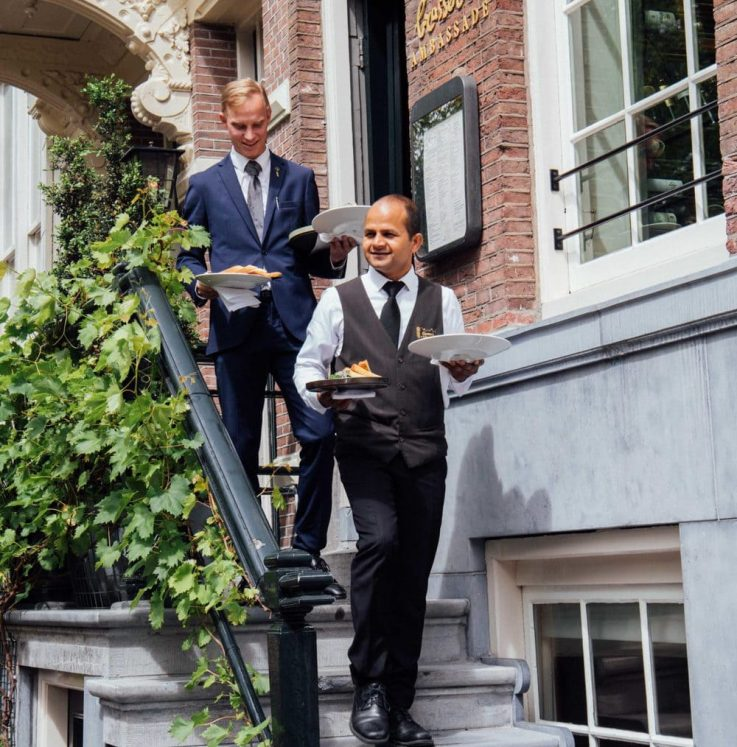 Entrance Employees - Brasserie Ambassade