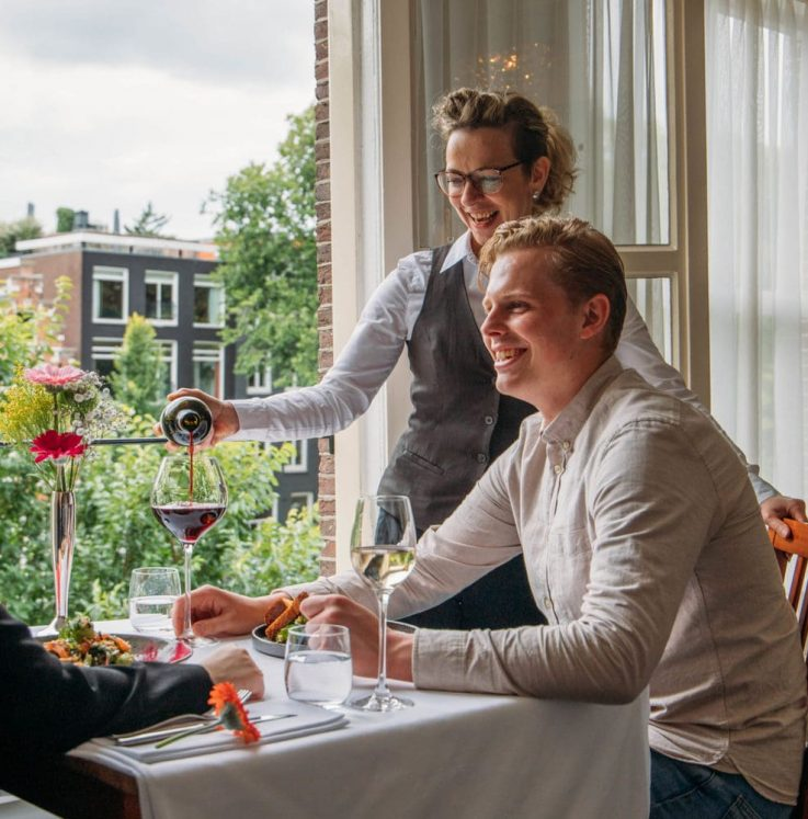 Diner for Two - Canal View - Brasserie Ambassade